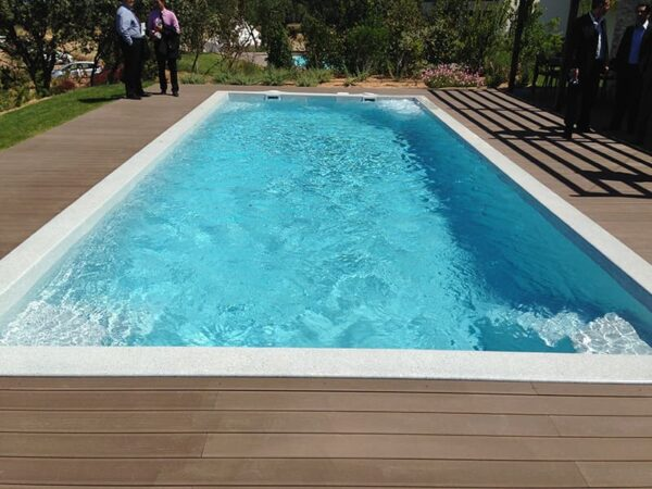 piscinas de poliéster