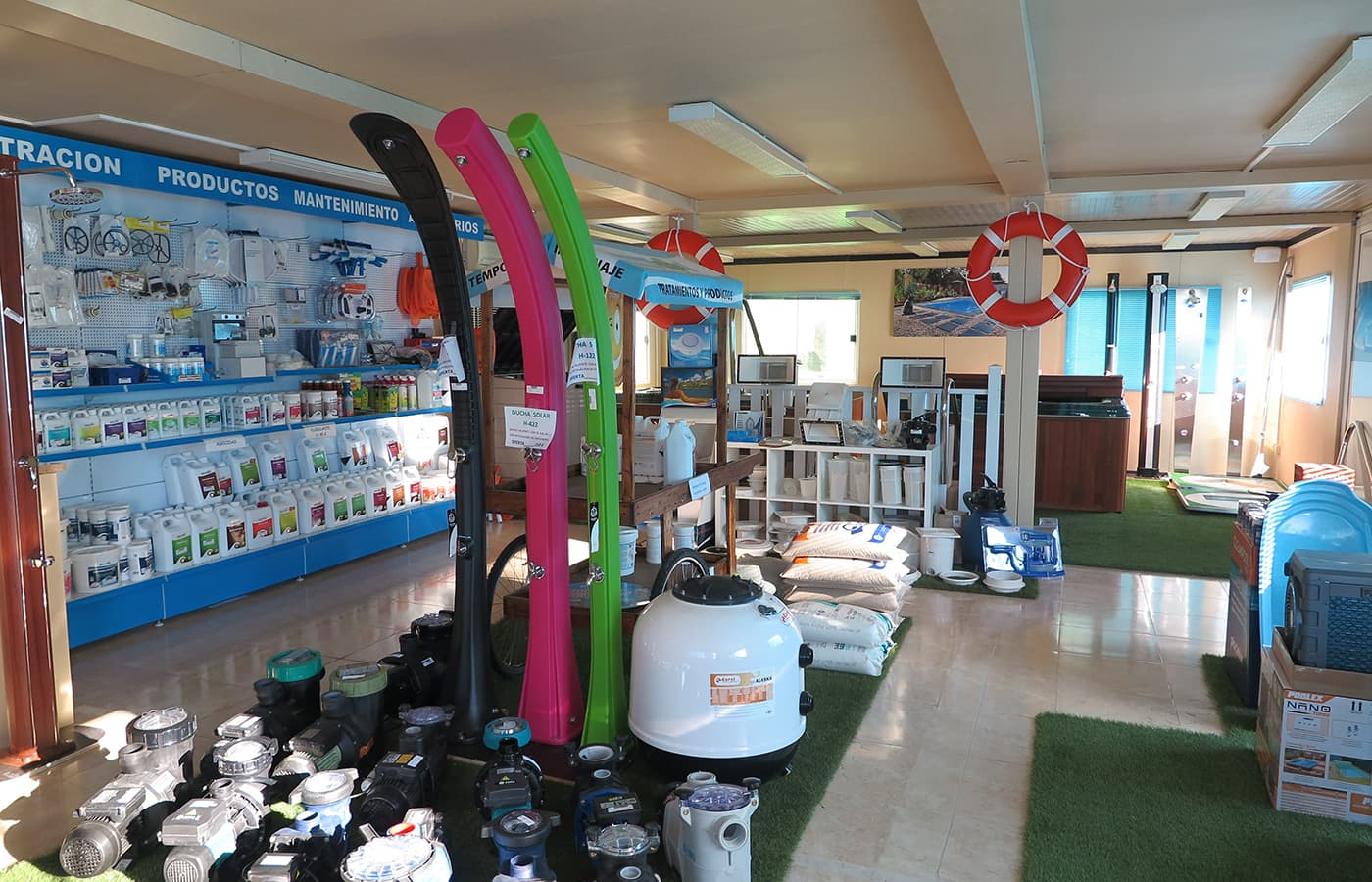 tienda de accesorios piscinas prefabricadas