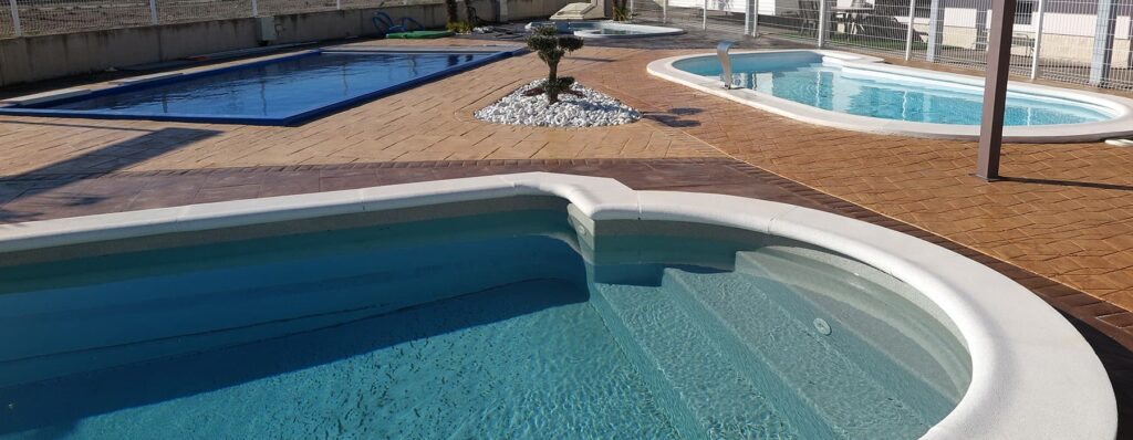 piscinas de poliester plaza