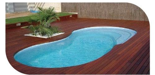 Formas de piscinas ovaladas